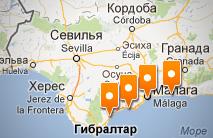 Карта интересное поблизости